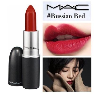 MAC RUSSIAN RED 612 ロシアンレッド M.A.C マック リップスティック マット 3g 口紅 ルージュ