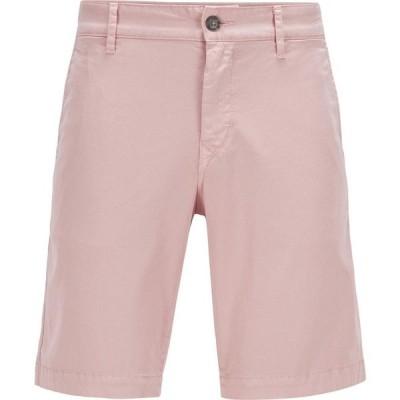 ヒューゴ ボス Boss メンズ ショートパンツ ボトムス・パンツ Chino Shorts Pastel Pink