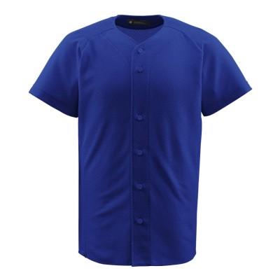 (DESCENTE/デサント)【ジュニア】【野球】フルオープンシャツ/メンズ ロイヤルブルー系