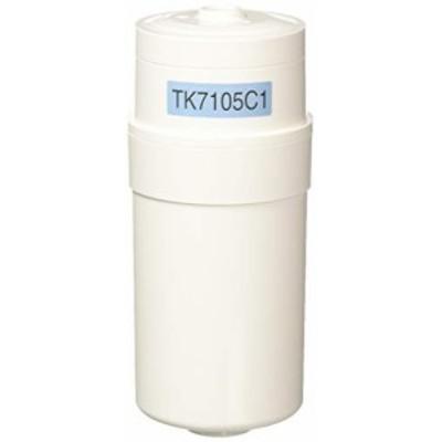 パナソニック アルカリイオン整水器用 交換カートリッジ 1個 TK7105C1(中古品)