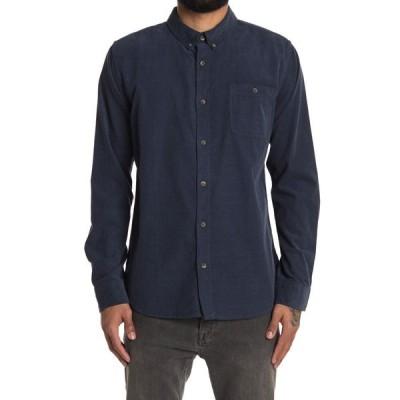 イズキール メンズ シャツ トップス Hamptons Long Sleeve Regular Fit Shirt NAVY