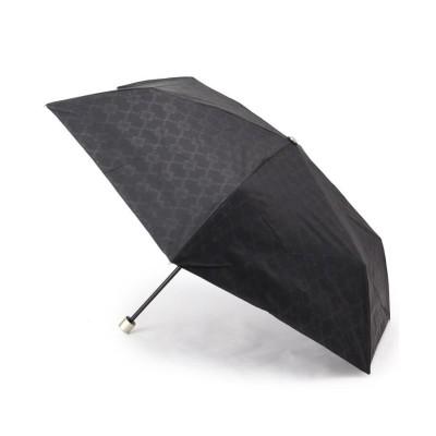 ITS' DEMO(イッツデモ) ボタニカル格子柄晴雨兼用折り畳み傘