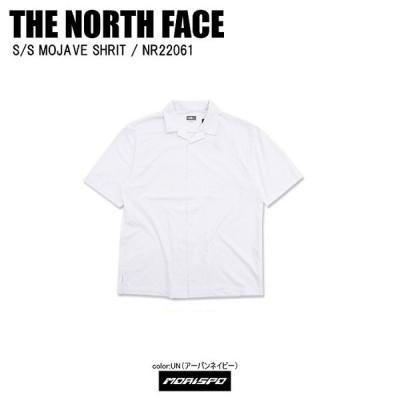 [ネコポス対応]THE NORTH FACE ノースフェイス tシャツ S/S MOJAVE SHRIT モハーベシャツ NR22061 ホワイト