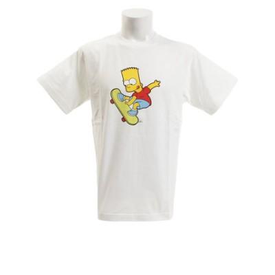 tシャツ メンズ 半袖 SIMPSONS2 Tシャツ sl2019050002-WHT