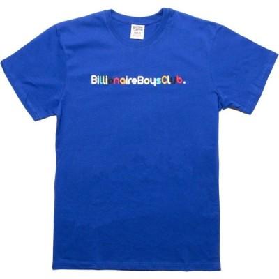 ビリオネアボーイズクラブ Billionaire Boys Club メンズ Tシャツ トップス Billionaire Knit Tee blue