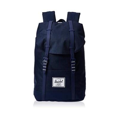 Herschel Retreat Backpack, Medieval Blue Crosshatch/Medieval Blue, Classic 19.5L 並行輸入品