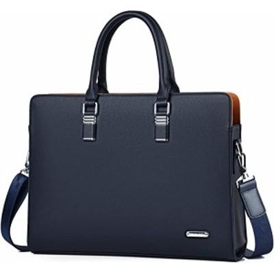 ビジネスバッグ 本革 A4サイズ対応 防水 ビジネスバック ブラック ブルー ...