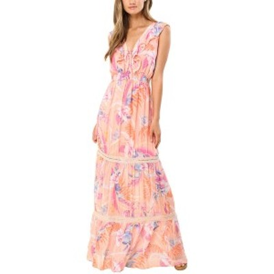 ヘイルボブ レディース ワンピース トップス Hale Bob V-Neck Maxi Dress Colorful femininity with a nod to Boho style.
