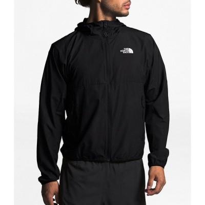 ノースフェイス メンズ ジャケット&ブルゾン アウター Long-Sleeve Flyweight Vented Hoody Jacket Black