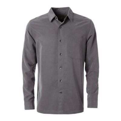 ロイヤルロビンズ シャツ トップス メンズ Desert Pucker Dry Long Sleeve Shirt (Men's) Asphalt