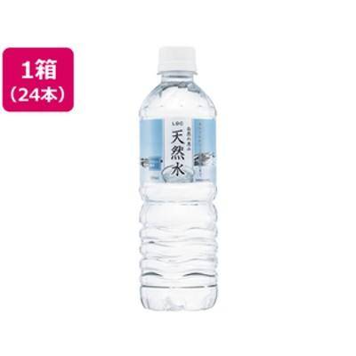 自然の恵み 天然水 500ml×24本 F378902