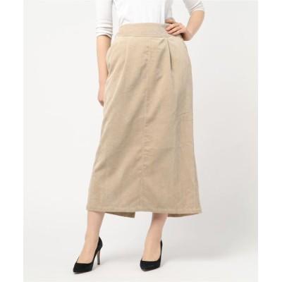 スカート ロングナロースカート