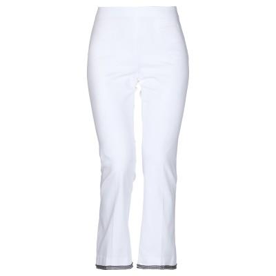 トゥルー ロイヤル TRUE ROYAL パンツ ホワイト 40 コットン 97% / ポリウレタン 3% パンツ