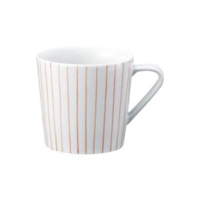 西海陶器 エッセンス es mug マグ ストライプ RD 19580  コーヒー お茶用品[▲][AB]