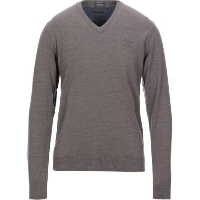ポール シャーク PAUL & SHARK メンズ ニット・セーター トップス sweater Dove grey
