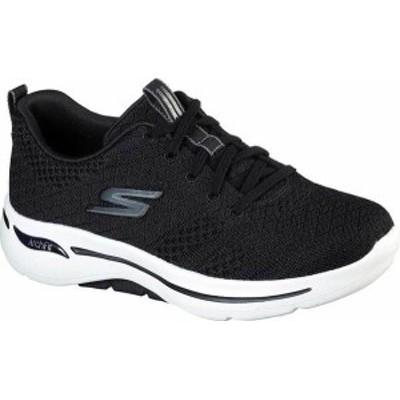 スケッチャーズ レディース スニーカー シューズ GOwalk Arch Fit Unify Sneaker Black/White