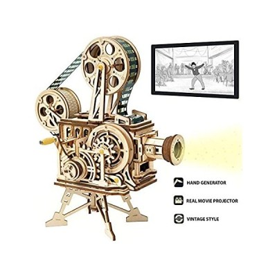 ROKR 3D Wooden Puzzle Mechanical Model Kits for Adults DIY Craft Kits Vitas