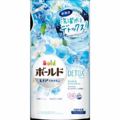 P&Gジャパン ボールドジェル フレッシュピュアクリーンの香り つめかえ用 600g