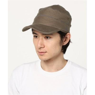 gym master / スウェット ワークキャップ MEN 帽子 > キャップ