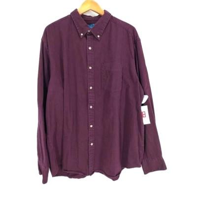 ピューリタン PURITAN ボタンダウンシャツ メンズ XL 中古 古着 210614