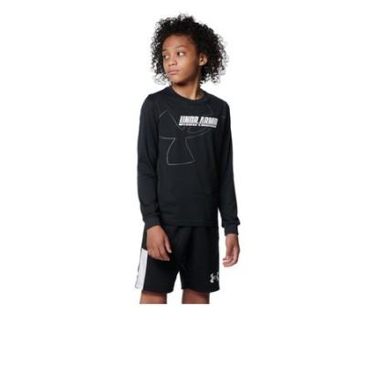 アンダーアーマー(UNDER ARMOUR)バスケットボールウェア ジュニア テック ロングスリーブ Tシャツ 1368975 001