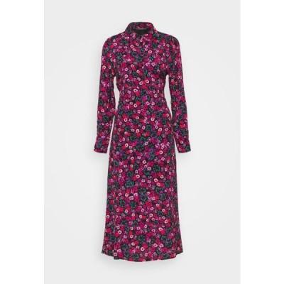 ゲス レディース シャツドレス SELVAGGIA DRESS - Shirt dress - multi-coloured