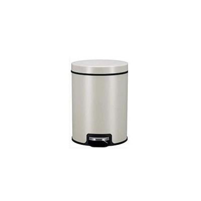 送料無料!BLRYP trash can with Cover Pedal Type Garbage Bin with Lid Simple Household Waste Basket Living Room Bedroom Kitchen Kitchen,