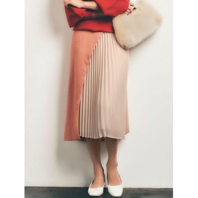 【ラグナムーン/LAGUNAMOON】 【COLLABORATION】LADYヘリンボーンスカート