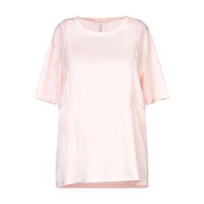 メゾンスコッチ MAISON SCOTCH T シャツ ライトピンク S コットン 50% / テンセル 50% T シャツ
