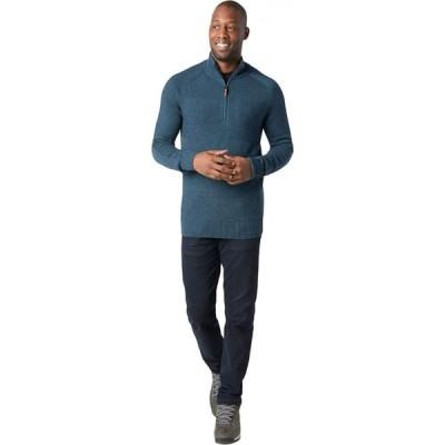 スマートウール Smartwool メンズ ニット・セーター トップス Ripple Ridge 1/2 Zip Sweater Deep Navy Heather/Prussian Blue Heather