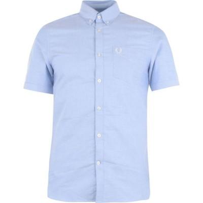 フレッドペリー Fred Perry メンズ 半袖シャツ ワイシャツ トップス Oxford Short Sleeve Shirt Sky