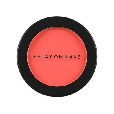 PLAY ON MAKE プレイオンメイク ブルームチーク PM-0015 ピオニーコーラル