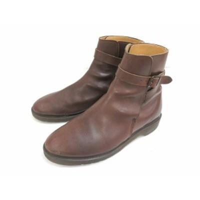 【中古】ドクターマーチン DR.MARTENS ブーツ ベルト レザー 本革 7 茶色 ブラウン 靴 シューズ メンズ