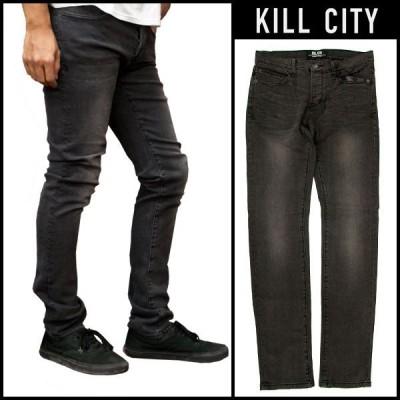 KILL CITY キルシティー ブラックデニム 12oz JUNKIE スキニー ジーンズ パンツ ボトムス m64-188