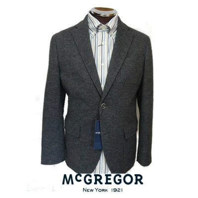 マクレガー(McGREGOR)・ウールストレッチテーラードジャケット メンズブレザー