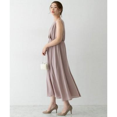 ドレス 2WAYミディドレス