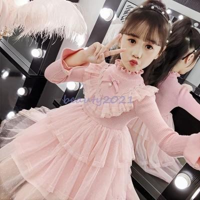 子供ドレス キッズ服 誕生日ギフト 結婚式七五三 子供服装 フォーマル ロリータドレス バレエ服 女の子チュール ワンピース ベビードレス
