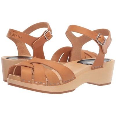 スウェディッシュ ハズビーンズ Swedish Hasbeens レディース サンダル・ミュール シューズ・靴 Magdalena Nature