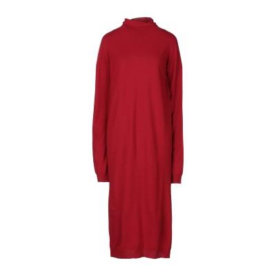 リビアナ コンティ LIVIANA CONTI 7分丈ワンピース・ドレス レッド 44 バージンウール 100% 7分丈ワンピース・ドレス
