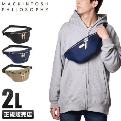 マッキントッシュフィロソフィー ウエストバッグ ボディバッグ アソール 横型 メンズレディース MACKINTOSH 62672