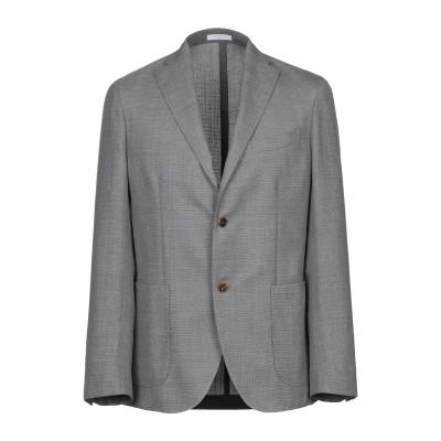ボリオリ BOGLIOLI テーラードジャケット 鉛色 48 ウール 100% テーラードジャケット