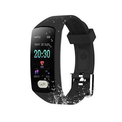 ZEERKEER Fitness?Tracker,Smart?Bracelet with Color?Screen?Activity?Tracker?Watch?,IP67 Waterproof Smart Band?Calorie?Counter?Pedom
