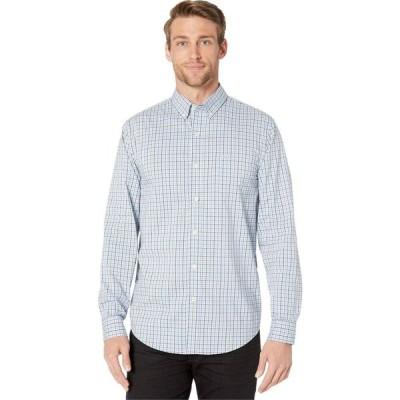 ドッカーズ Dockers メンズ シャツ トップス Long Sleeve Signature Comfort Flex Shirt Carrasco Light Blue Plaid