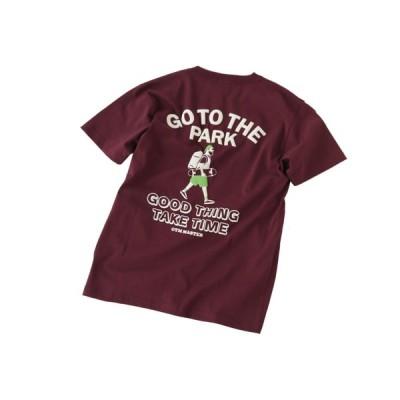 ジムマスター gym master メンズ&レディース GO TO THE PARK TEE カジュアル 半袖 Tシャツ【191013】