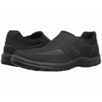 Rockport ロックポート メンズ 男性用 シューズ 靴 ローファー Get Your Kicks Slip-On Black【送料無料】