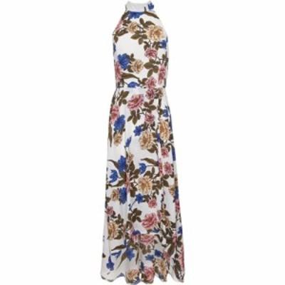 メラ ロンドン Mela London レディース ワンピース ワンピース・ドレス White Floral High Low Dress White