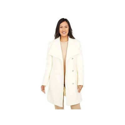 Vince Camuto Belted Single Breasted Wool Coat V20772X-ZA レディース コート アウター Off-White