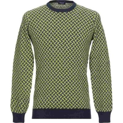 ドルモア DRUMOHR メンズ ニット・セーター トップス sweater Acid green