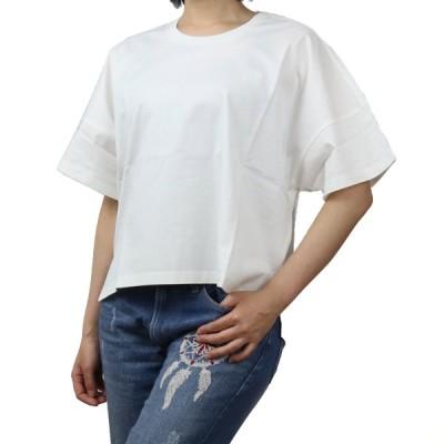 ロエベ LOEWE レディース−Tシャツ S359341XA4 2100 ホワイト系 bos-35 apparel-01 レディース ts-01