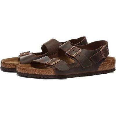 ビルケンシュトック Birkenstock メンズ サンダル シューズ・靴 Milano Habana Oiled Leather